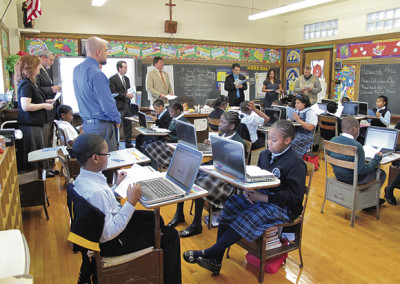 Blessing of New Media Equipment granted to Our Lady's Catholic Academy