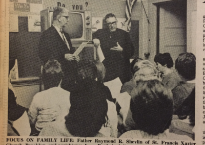 Adult Education Program, telecast into schools, 1967.